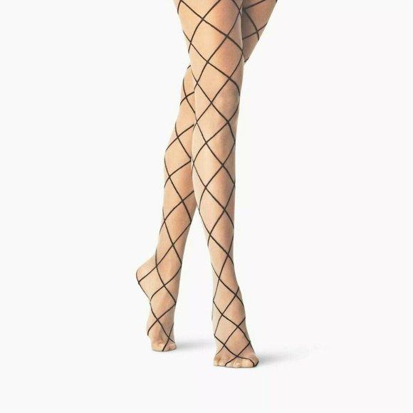 a new day Accessories - Diamond Design Nude Fashion Tights A New Day L/XL